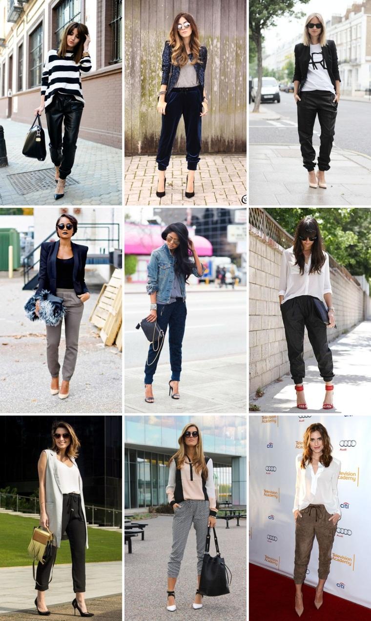 calça jogging pants - como usar - no trabalho